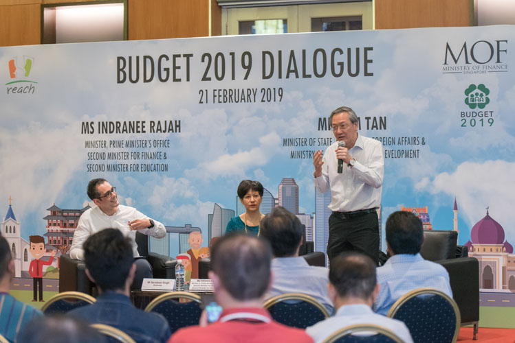 REACH Budget 2019 Dialogue