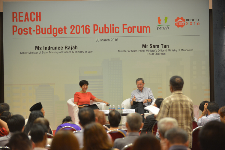 REACH Post Budget Public Forum 2016 Photo Gallery