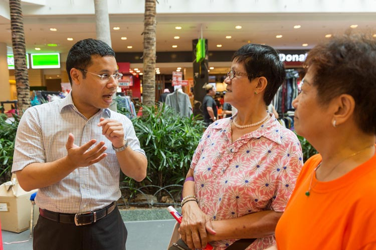 REACH Budget 2017 Listening Point @ Jurong Point