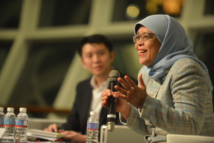 Conversation with Speaker Madam Halimah Yacob