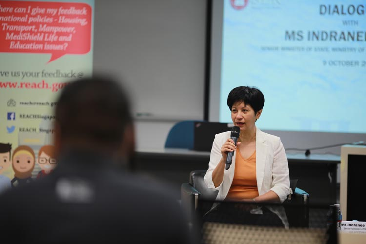 REACH-SLR Dialogue with SMS Indranee Rajah