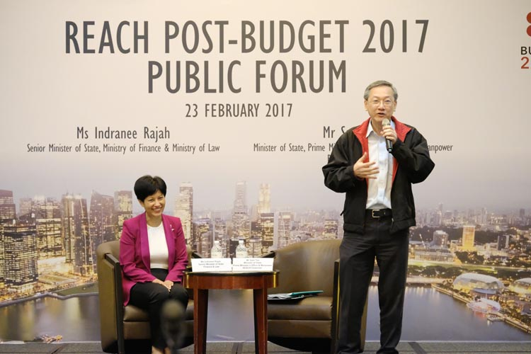 REACH Post-Budget 2017 Public Forum